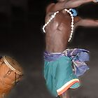 Ghana Dance Panorama by Wayne King