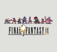 Final Fantasy IX Sprites and Logo by ----User