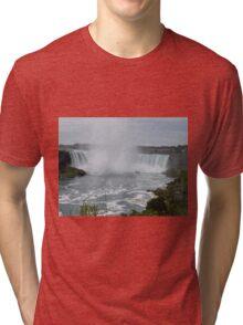 Niagara falls Canada Chutes du Niagara Tri-blend T-Shirt