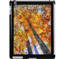 Autumn Trees In The Sky iPad Case/Skin