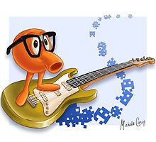 80z All Stars QBert by mishy-belle