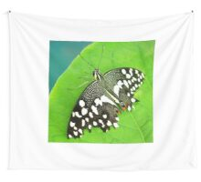 Spotted Butterfly Wall Tapestry
