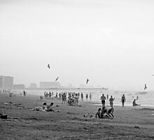 Myrtle Beach, in monochrome. by Billlee
