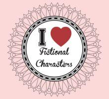 i heart fictional characters  One Piece - Short Sleeve