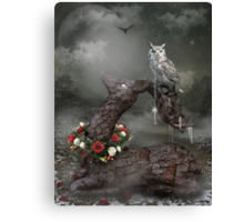 Keeper of the Enchanted - Winter Frost Canvas Print