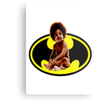 Lil BAT BIG Metal Print