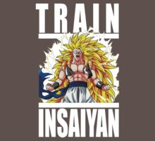 Train Insaiyan - Gogeta by irig0ld