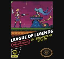 Retro League of Legends by Franjolos