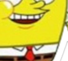 round spongebob  Sticker