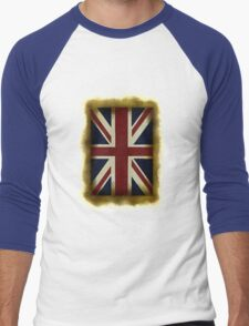British  Men's Baseball ¾ T-Shirt