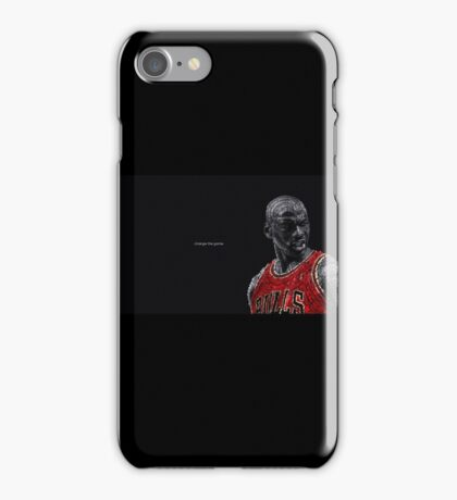 basketball bulls iPhone Case/Skin