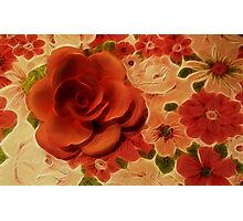 Vintage Rose Photographic Print
