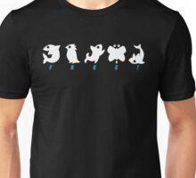 Mini Animals [TEXT version] Unisex T-Shirt