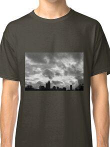 Charlotte Skyline - B&W Classic T-Shirt