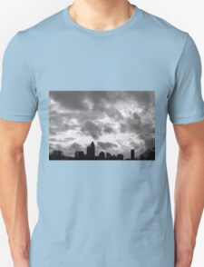 Charlotte Skyline - B&W Unisex T-Shirt