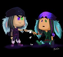 Mad T Party - Dorchadas & Thackery by mishy-belle