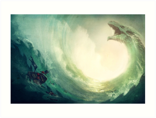 Sea is a Dragon by Vivienne To