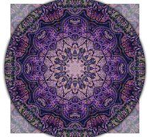 Crown Chakra Mandala 2c by haymelter
