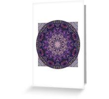 Crown Chakra Mandala 2c Greeting Card