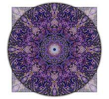 Crown Chakra Mandala 2b Photographic Print