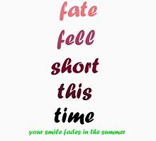 blink-182 - Fate Fell Short Unisex T-Shirt