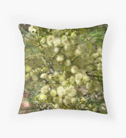 Deane's wattle Throw Pillow