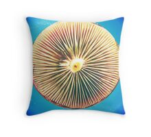 Space Disc Throw Pillow