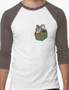 Pocket Who? Men's Baseball ¾ T-Shirt