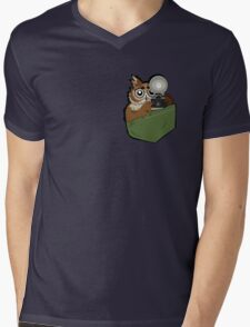 Pocket Who? Mens V-Neck T-Shirt