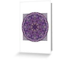Crown Chakra Mandala 1 Greeting Card