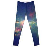 Pretty stars and galaxy Leggings