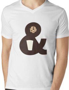 Milk & Cookies Mens V-Neck T-Shirt