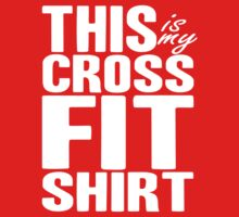 This Is My CrossFit Shirt (white ink) Workout Tee. Crossfit Tee. Exercise Tee. Weightlifting Tee. Running Tee. Fitness by Max Effort