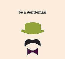 be a gentleman (version 2) by jaelljaell