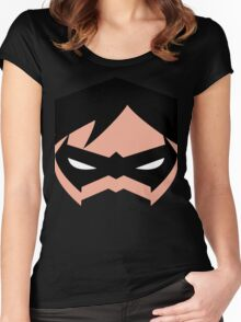 Minimalistic Robin Women's Fitted Scoop T-Shirt