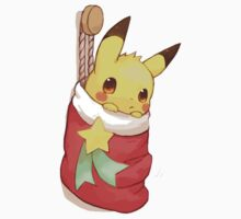 Christmas Pikachu by rajchavan
