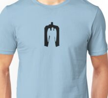 Weeping Angel with Tardis Unisex T-Shirt