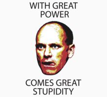With great power comes great stupidity — Campbell Newman by monsterplanet