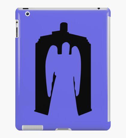 Weeping Angel with Tardis iPad Case/Skin