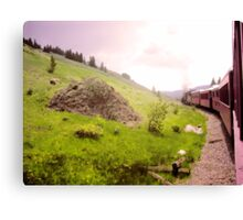 Train Ride Canvas Print