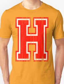 Big Red Letter H T-Shirt