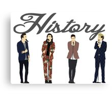 One Direction 9 Canvas Print