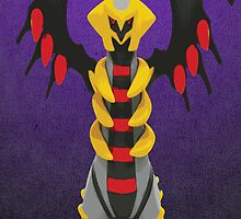 Giratina Turning Up by ChromeEagle