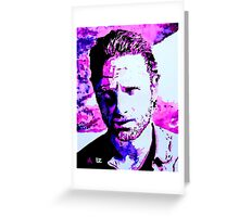 Walking Dead Rick Grimes Greeting Card