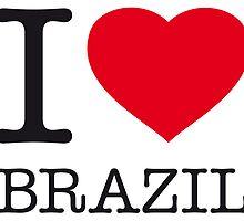 I ♥ BRAZIL by eyesblau