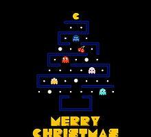 Merry Pac-Mas by bonobo13