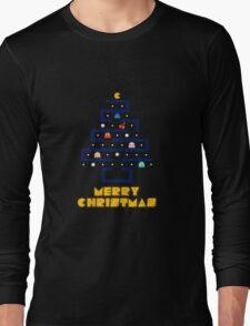 Merry Pac-Mas Long Sleeve T-Shirt