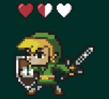 8-bit Link by nonsoloart