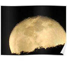 moonrise - salida de la luna Poster