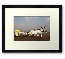 P-51 Mustang Fighter Plane Framed Print
